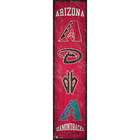 Arizona Diamondbacks Heritage Banner 6x24 Sign