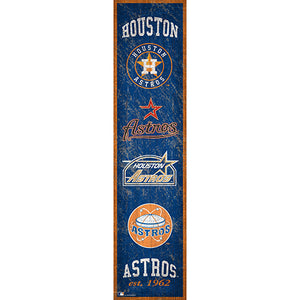 Houston Astros Heritage Banner 6x24 Sign