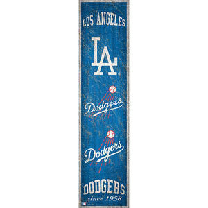 Los Angeles Dodgers Heritage Banner 6x24 Sign