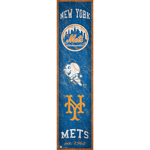 New York Mets Heritage Banner 6x24 Sign