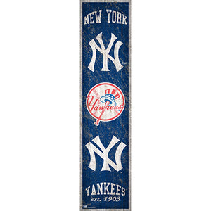 New York Yankees Heritage Banner 6x24 Sign