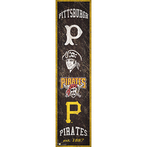 Pittsburgh Pirates Heritage Banner 6x24 Sign