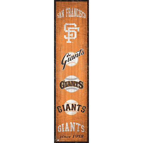 San Francisco Giants Heritage Banner 6x24 Sign