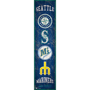 Seattle Mariners Heritage Banner 6x24 Sign