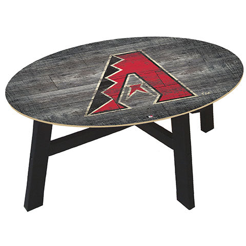 Arizona Diamondbacks Distressed Wood Coffee Table