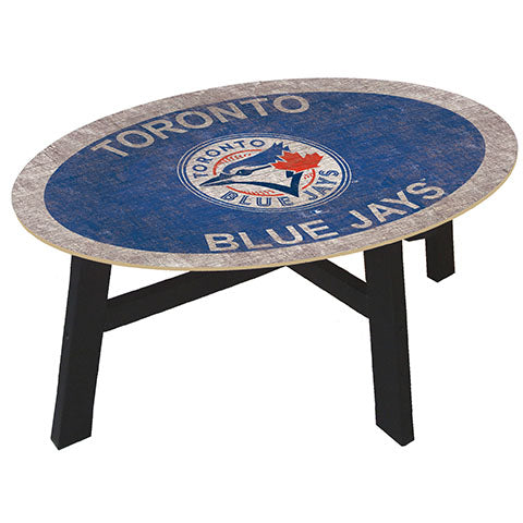 Toronto Blue Jays Logo Coffee table with team color