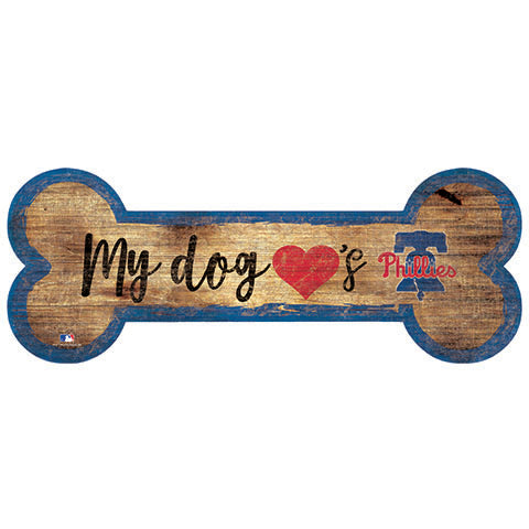 Philadelphia Phillies Dog Bone Sign