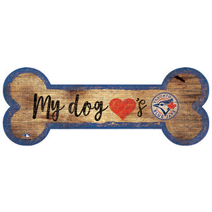 Toronto Blue Jays Dog Bone Sign