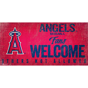 Los Angeles Angels Fans Welcome 6x12 Sign