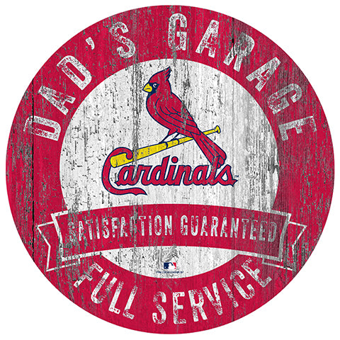 Saint (St.) Louis Cardinals Dad's Garage