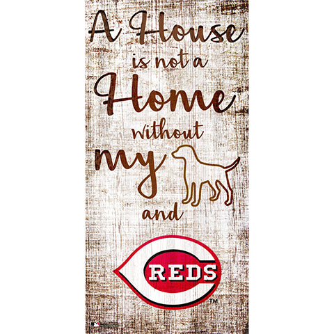 Cincinnati Reds A House is not a Home Sign