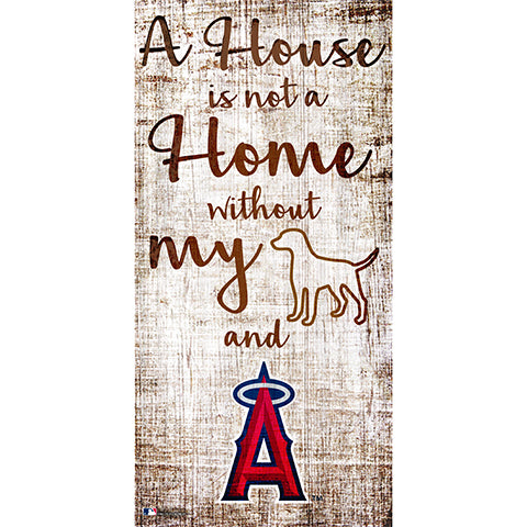 Los Angeles Angels A House is not a Home Sign