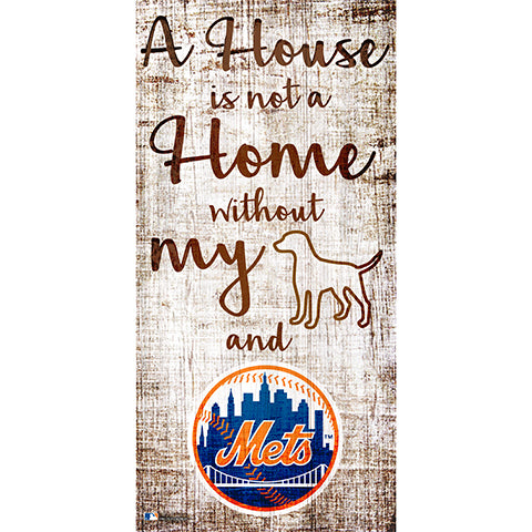 New York Mets A House is not a Home Sign