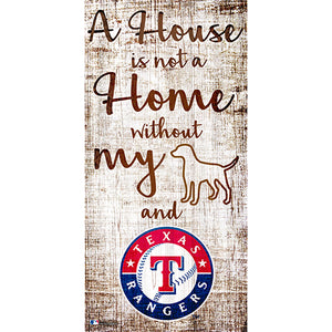 Texas Rangers A House is not a Home Sign