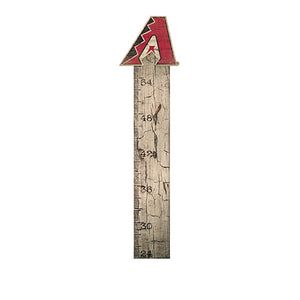 Arizona Diamondbacks Growth Chart Sign 6x36