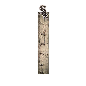 Chicago White Sox Growth Chart Sign 6x36