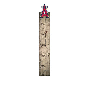 Los Angeles Angels Growth Chart Sign 6x36