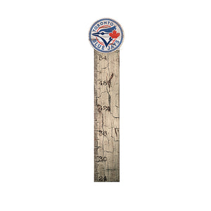 Toronto Blue Jays Growth Chart Sign 6x36