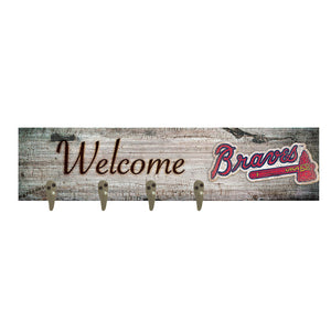 Atlanta Braves Coat Hanger 6x24