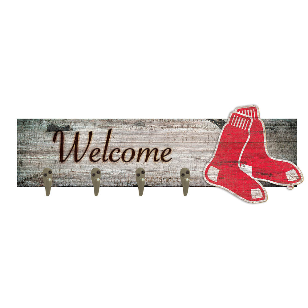 Boston Red Sox Coat Hanger 6x24