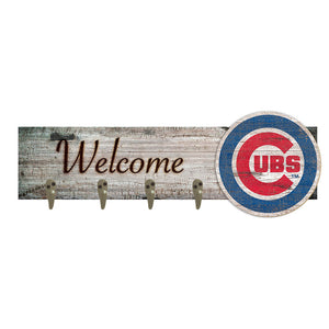 Chicago Cubs Coat Hanger 6x24