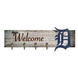 Detroit Tigers Coat Hanger 6x24