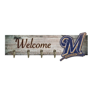 Milwaukee Brewers Coat Hanger 6x24