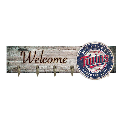Minnesota Twins Coat Hanger 6x24