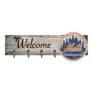 New York Mets Coat Hanger 6x24