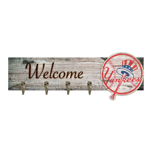 New York Yankees Coat Hanger 6x24