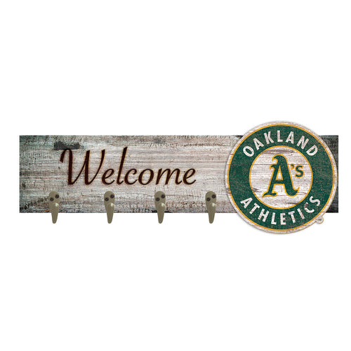 Oakland Athletics Coat Hanger 6x24