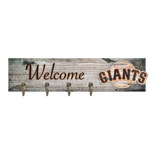 San Francisco Giants Coat Hanger 6x24