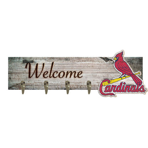 Saint (St.) Louis Cardinals Coat Hanger 6x24