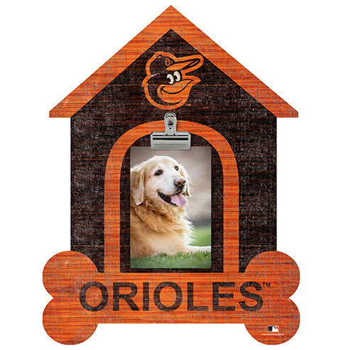 Baltimore Orioles Dog Bone House Clip Frame