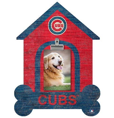 Chicago Cubs Dog Bone House Clip Frame