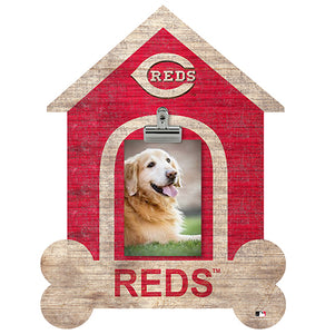 Cincinnati Reds Dog Bone House Clip Frame