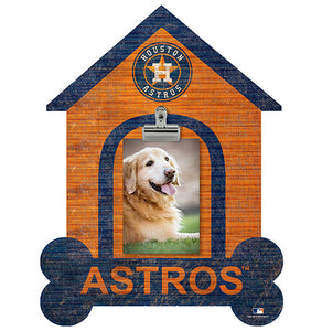 Houston Astros Dog Bone House Clip Frame
