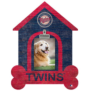 Minnesota Twins Dog Bone House Clip Frame