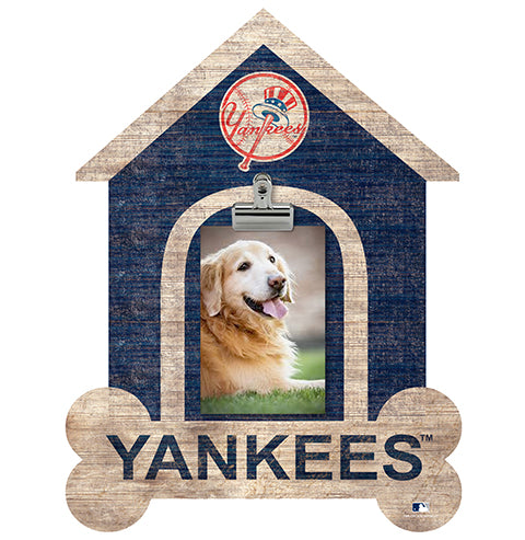 New York Yankees Dog Bone House Clip Frame