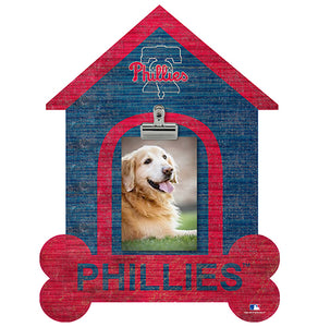 Philadelphia Phillies Dog Bone House Clip Frame