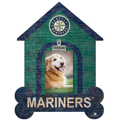 Seattle Mariners Dog Bone House Clip Frame