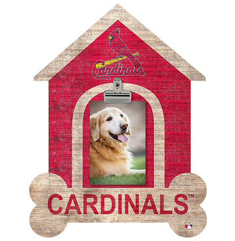 Saint (St.) Louis Cardinals Dog Bone House Clip Frame