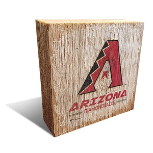 Arizona Diamondbacks Team Logo Block 6X6