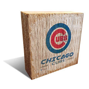 Chicago Cubs  Team Logo Block 6X6
