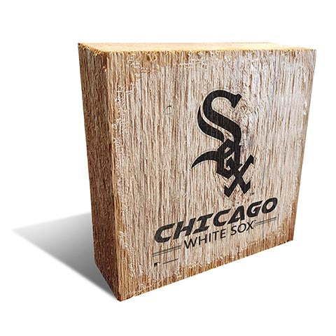 Chicago White Sox Team Logo Block 6X6