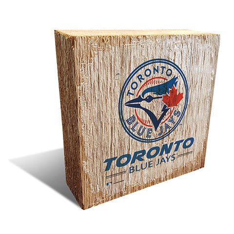 Toronto Blue Jays Team Logo Block 6X6