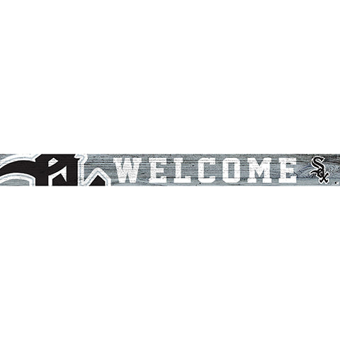 Chicago White Sox 16in. Welcome Strip