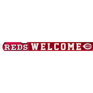 Cincinnati Reds 16in. Welcome Strip