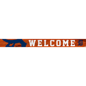 Detroit Tigers 16in. Welcome Strip