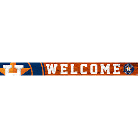 Houston Astros 16in. Welcome Strip